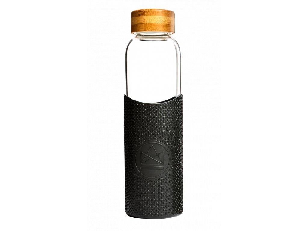 Skleněná láhev na vodu Neon Kactus Glass Water Bottle Rock Star 550 ml