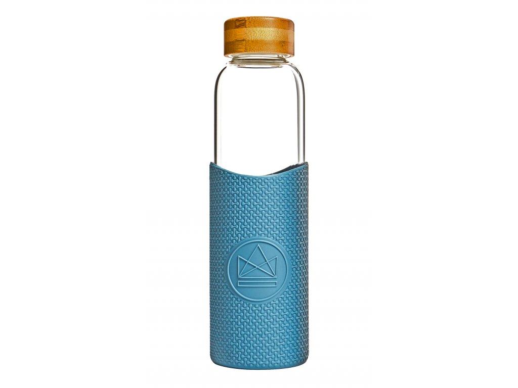 Skleněná láhev na vodu Neon Kactus Glass Water Bottle Super Sonic 550 ml
