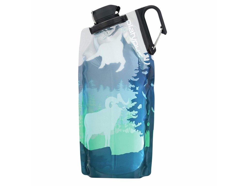 0b8205f5 lahev platypus duolock softbottle 1 l skyline modra zelena bighorn blue