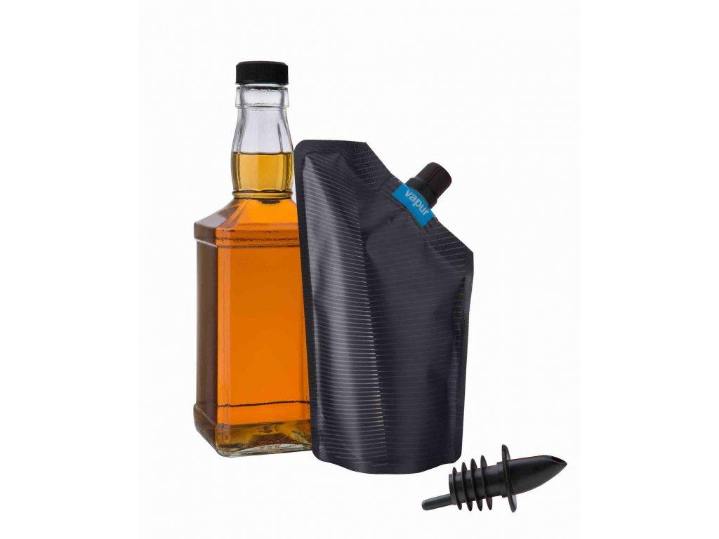 Hydrovak Vapur Incognito Flask Grey 300 ml