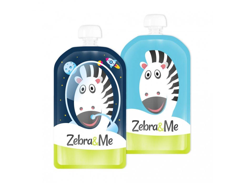 Zebra&Me kapsicky 2ks kozmonaut+zebra