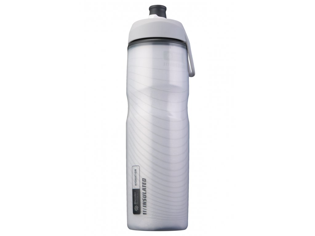 Láhev na vodu BlenderBottle Hallex insulated White 710 ml