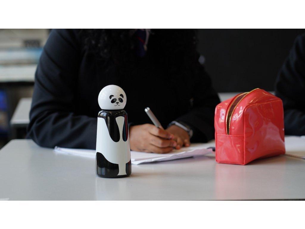 Termo láhev do školy LUND LONDON Skittle Bottle Mini 300ml - Panda