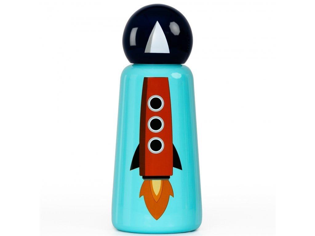 Termo láhev do školy LUND LONDON Skittle Bottle Mini 300ml - Rocket