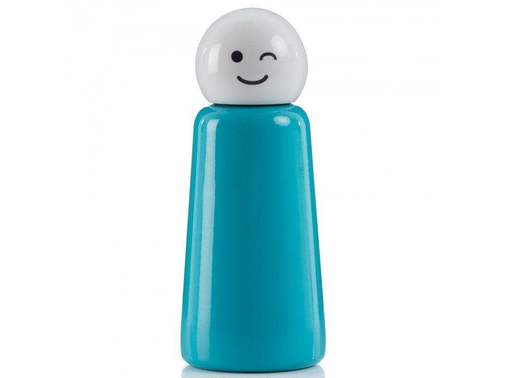 7299 Skittle Bottle Mini Sky Blue & White Wink PRODUCT SHOT 1 high res