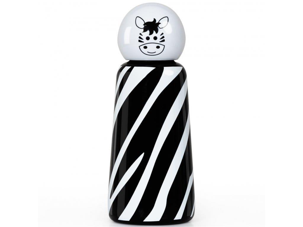 Termo láhev do školy LUND LONDON Skittle Bottle Mini 300ml - Zebra