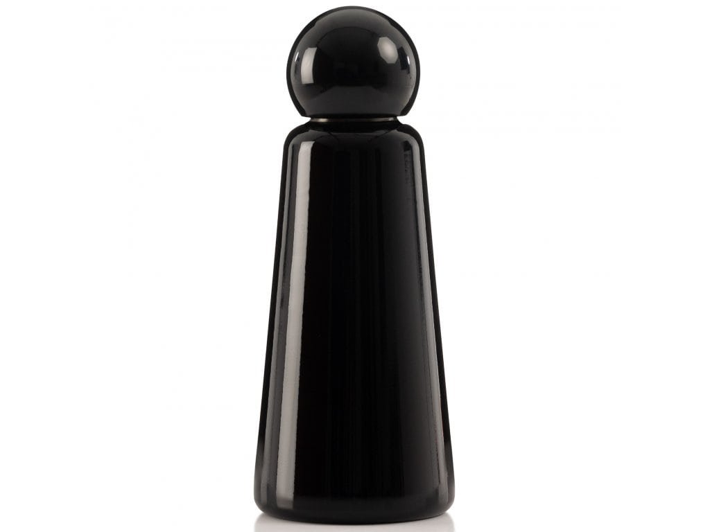 Termo láhev do školy LUND LONDON Skittle Bottle Original 500ml - Midnight Black