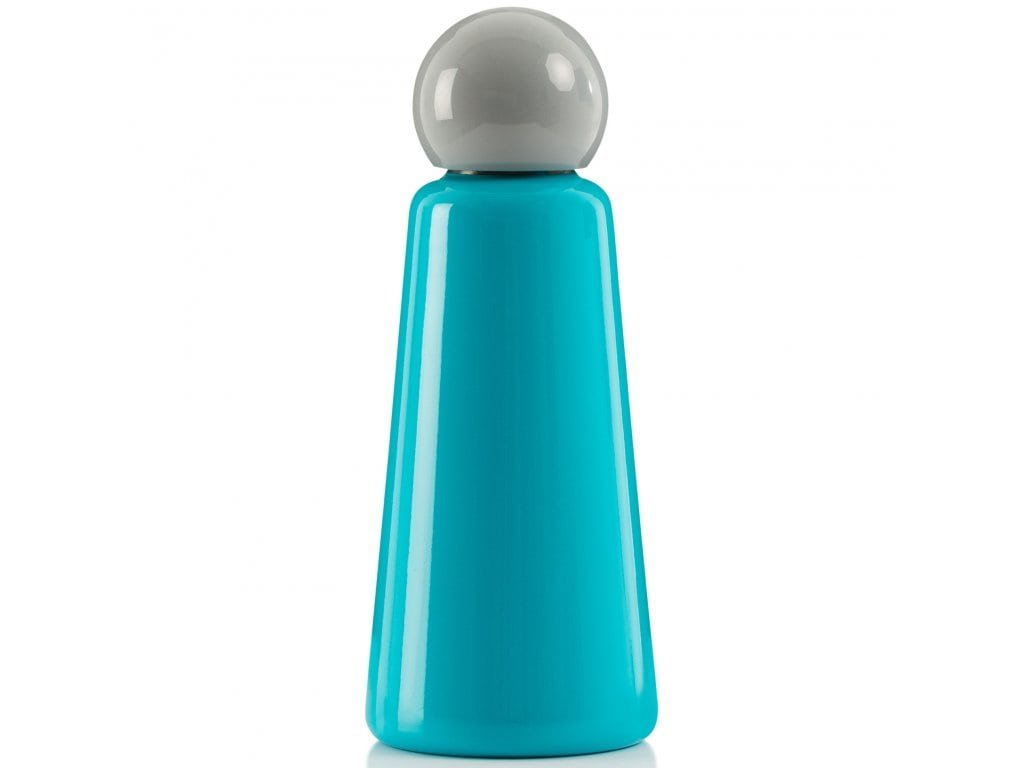Termo láhev LUND LONDON Skittle Bottle Original 500ml - Sky Blue & Light Grey