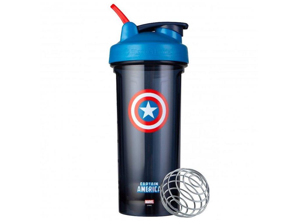 Šejkr BlenderBottle Pro28 - Marvel® Captain America - 828 ml
