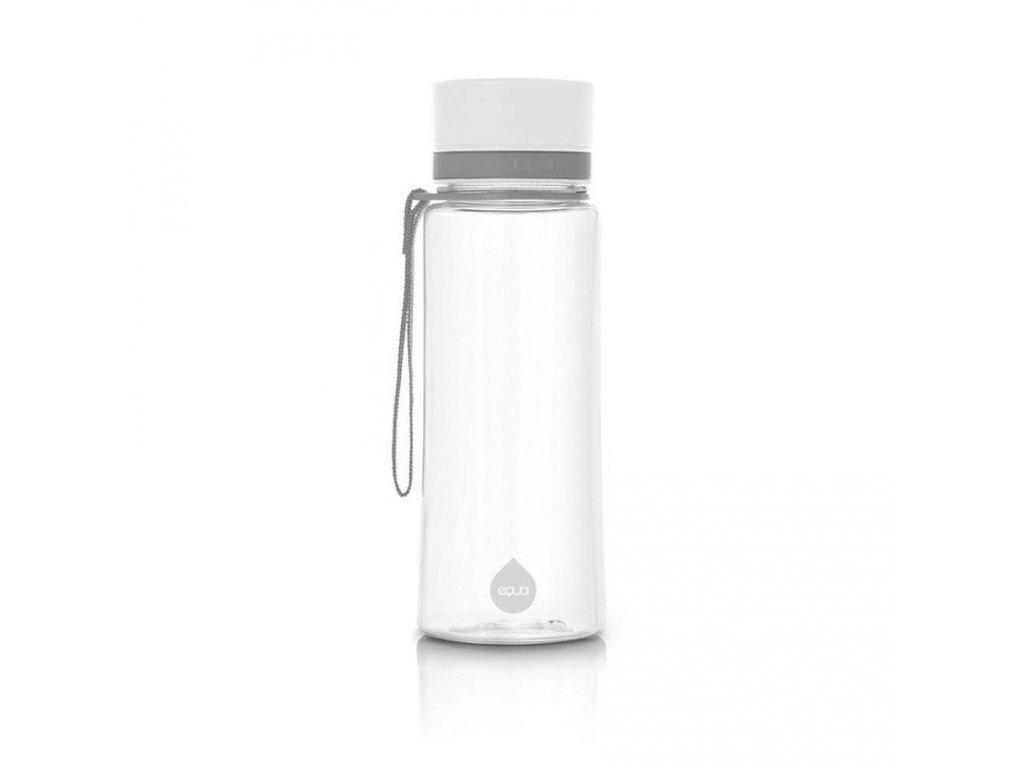 Plastová láhev do školy EQUA - White 600 ml