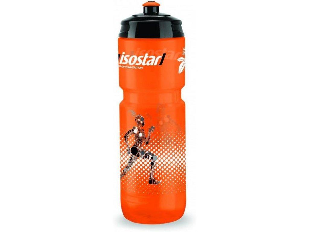 Isostar láhev bidon bio superloli, oranžová - 800 ml