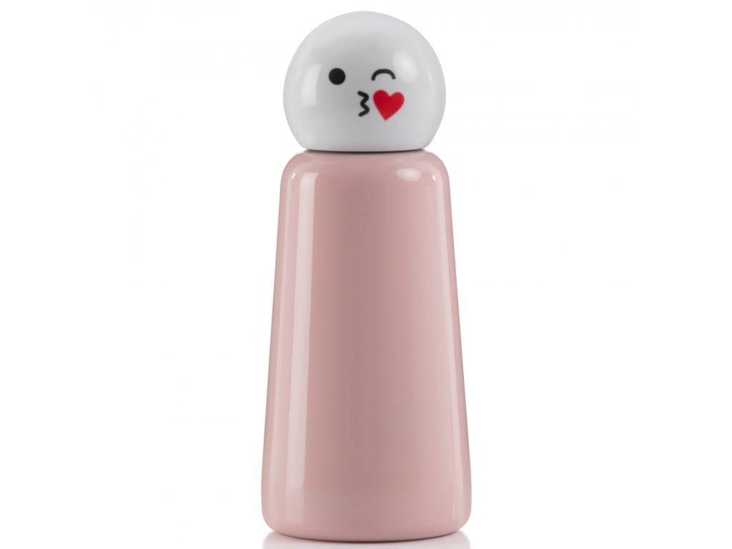 Termo láhev LUND LONDON Skittle Bottle Mini 300ml - Pink Kiss