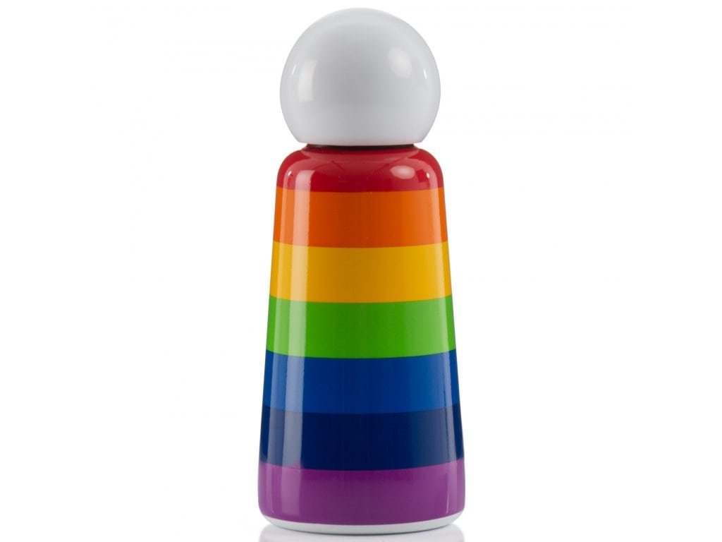 LUND LONDON Skittle Bottle Mini 300ml - Rainbow