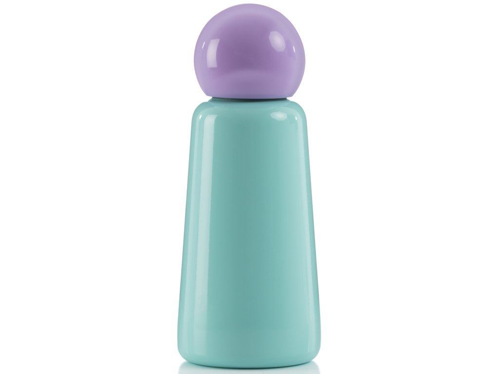 LUND LONDON Skittle Bottle Mini 300ml Mint and Lilac
