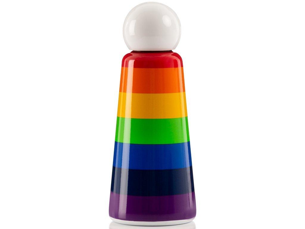 Termo láhev do školy LUND LONDON Skittle Bottle Original 500ml - Rainbow