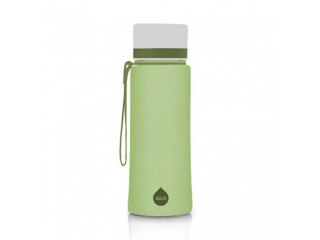 Plastová láhev do školy EQUA - Olive 600 ml