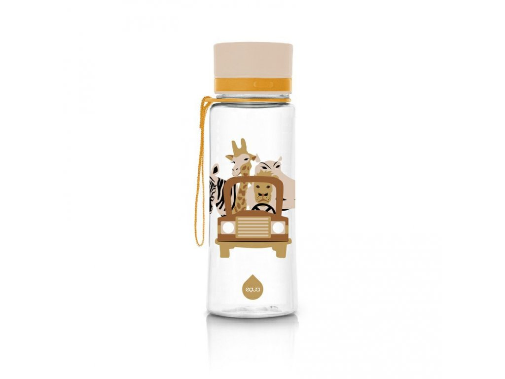 Plastová láhev do školy EQUA - Safari 600 ml
