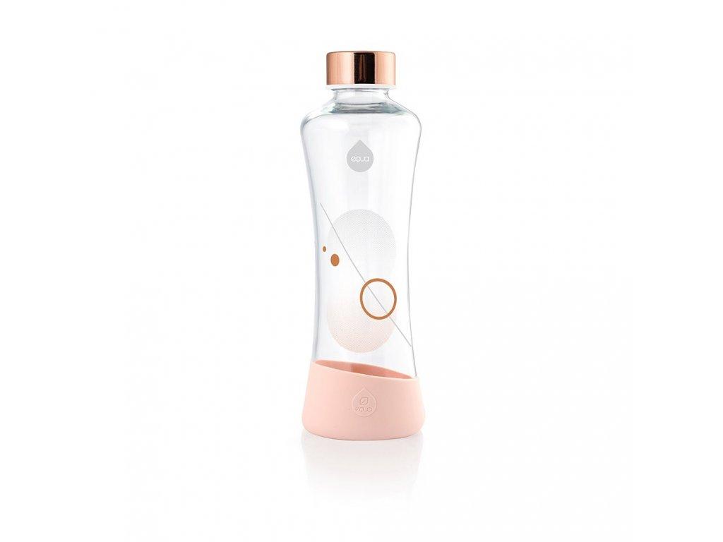 Skleněná láhev EQUA METALLIC - Rose Gold 550 ml