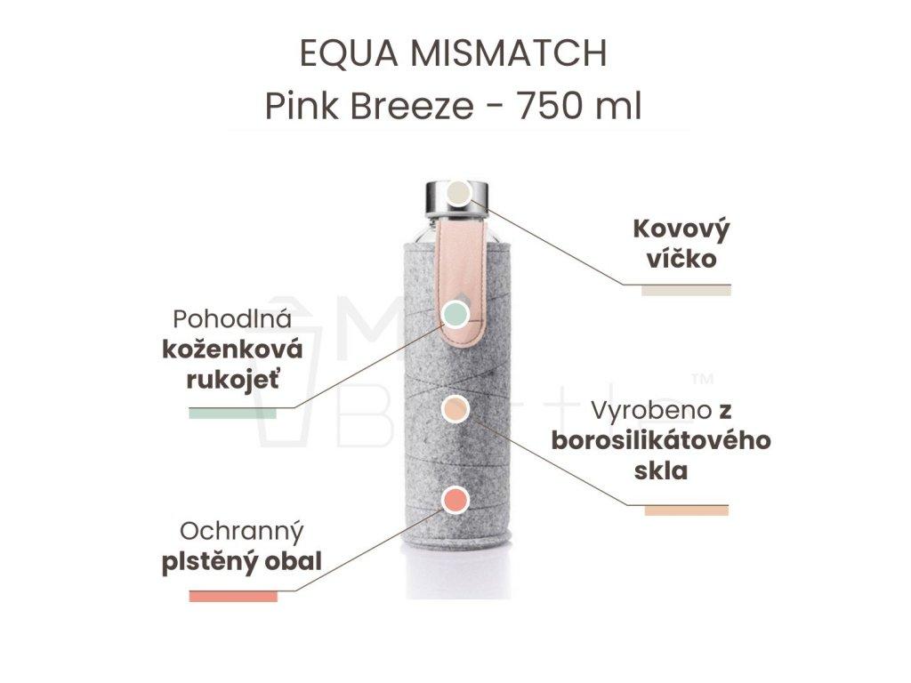 EQUA MISMATCH - Pink Breeze 750 ml