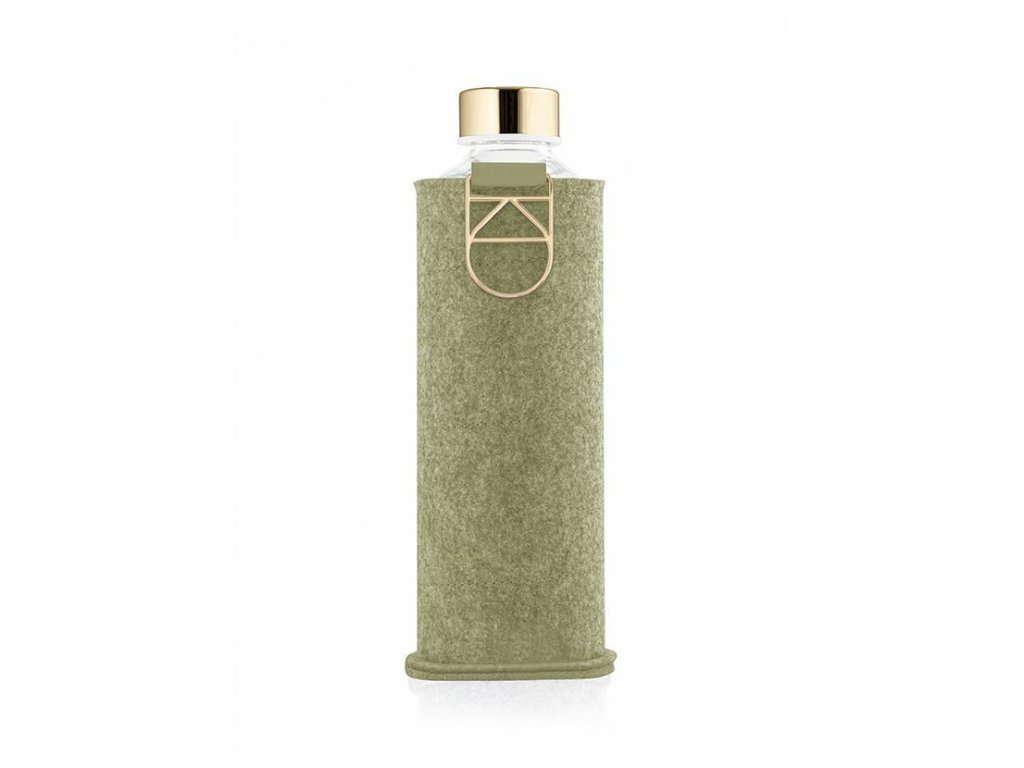 Skleněná láhev EQUA MISMATCH - Pistachio 750 ml