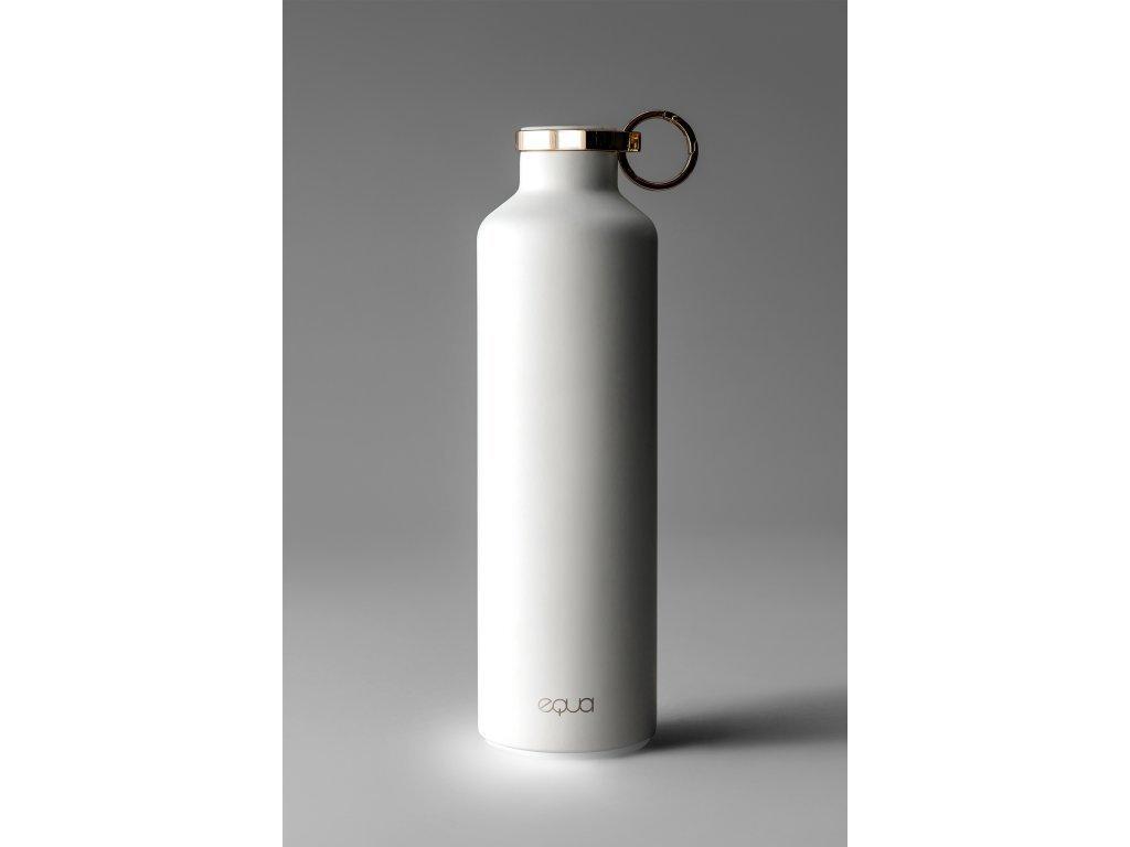 Inteligentní termo láhev EQUA SMART - Snow White 680 ml