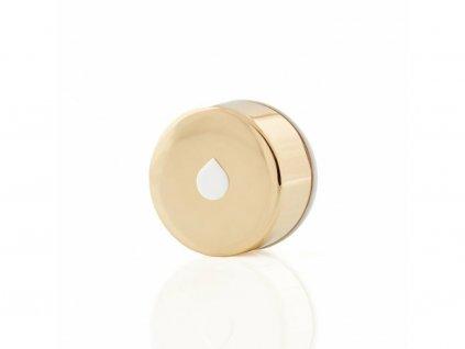 Víčko na láhev - Equa Metalic Gold