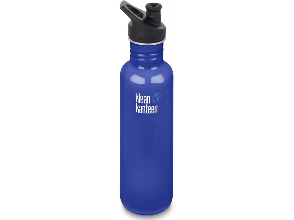 Klean Kanteen Classic w/Sport Cap 3.0 nerezová fľaša 800ml