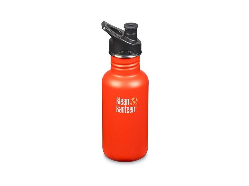 Nerezová fľaša do školy Klean Kanteen Classic w/Sport Cap 3.0 - sierra sunset matte 532 ml