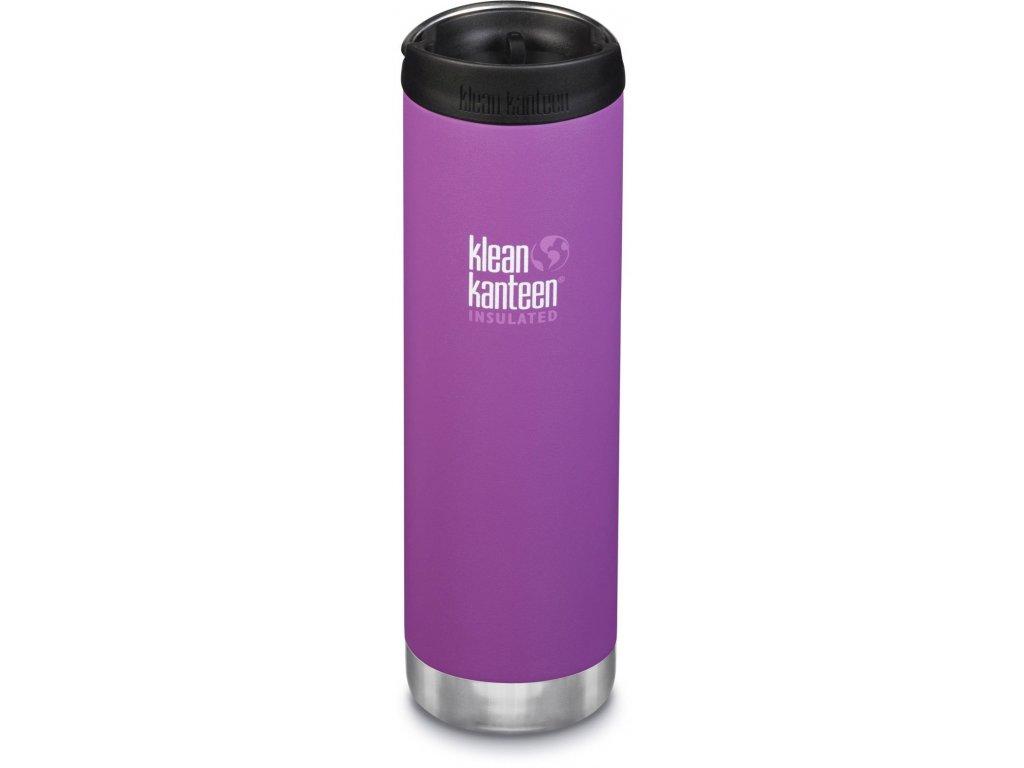 Termoska Klean Kanteen TKWide w/Café Cap - Berry Bright 592 ml