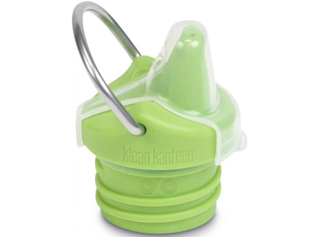 Náhradný uzáver Klean Kanteen Kid Sippy Cap New - green