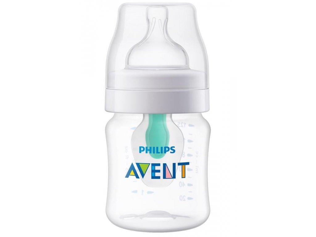 Dojčenská fľaša Anti-Colic 125 ml s ventilom Airfree