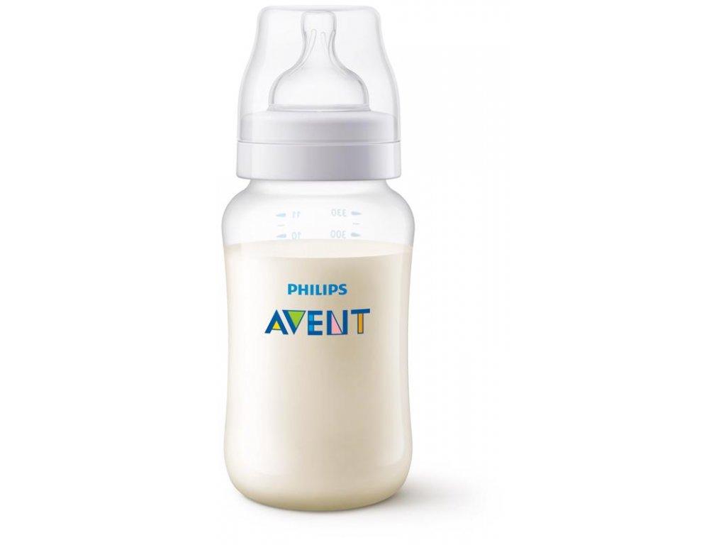 Avent dojčenská fľaša antikolik 330ml