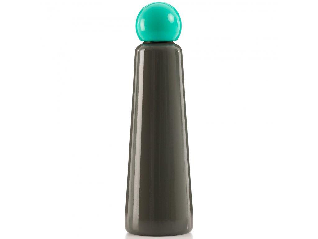 Termo fľaša LUND LONDON Skittle Bottle Jumbo 750ml Dark Grey and Turquoise