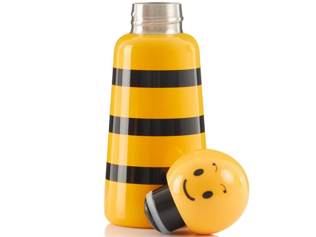 Termo fľaša do školy LUND LONDON Skittle Bottle Mini 300ml - Bumble Bee