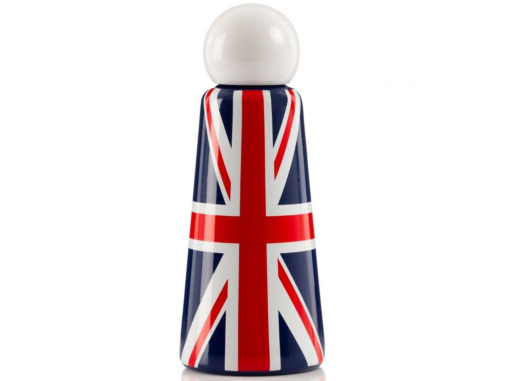 Termo fľaša do školy LUND LONDON Skittle Bottle Original 500ml - UK Flag