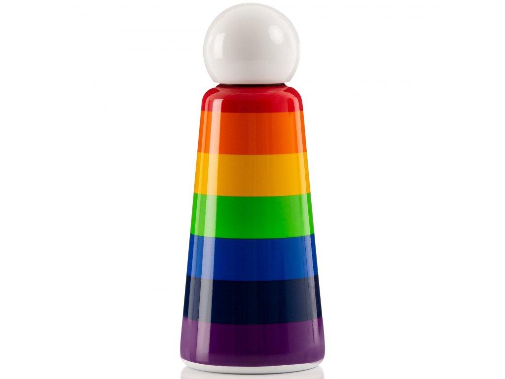 Termo fľaša do školy LUND LONDON Skittle Bottle Original 500ml - Rainbow