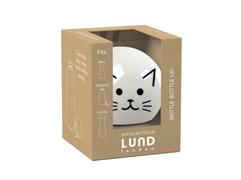Vrchnák na termo fľašu LUND LONDON Skittle Bottle Lid - Cat