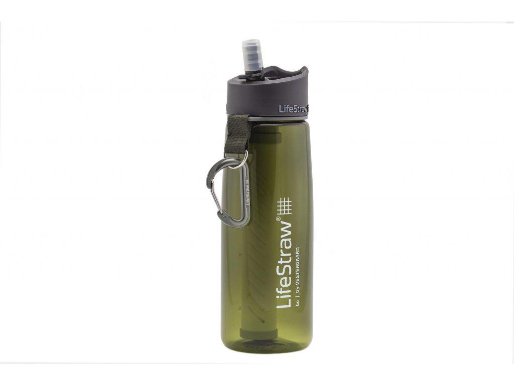 Filtračná fľaša LifeStraw Go 2-Stage Green 650 ml
