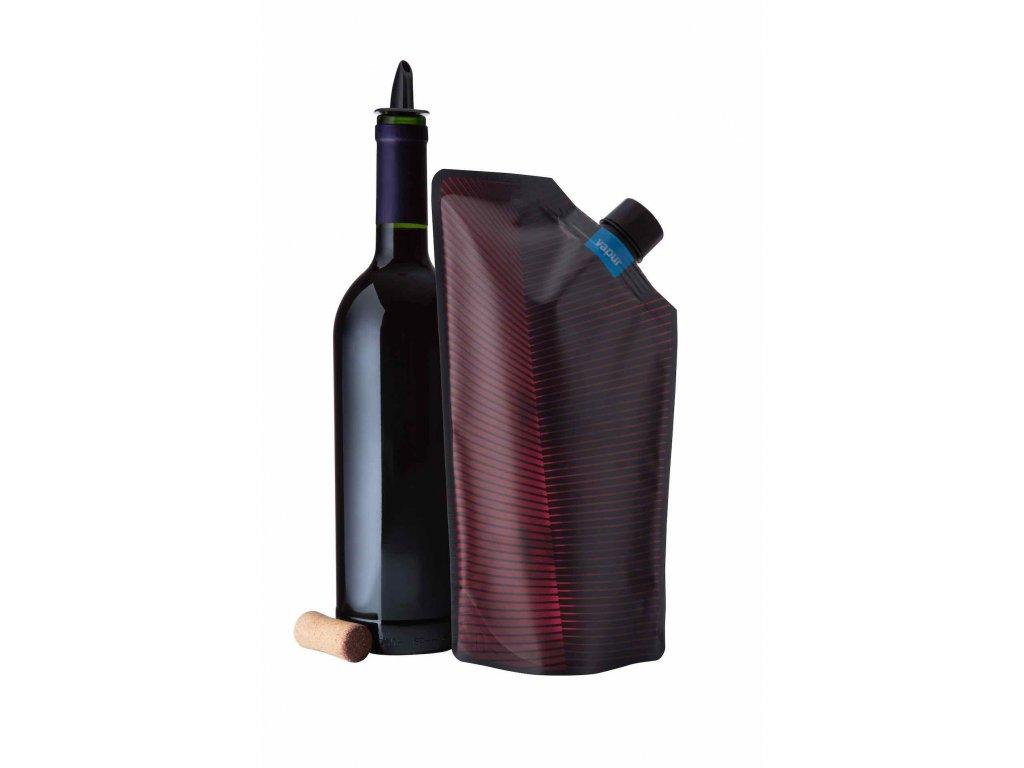 Hydrovak Vapur Wine Carrier Maroon 750 ml