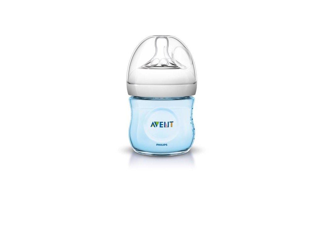 Avent dojčenská fľaša modrá 125ml