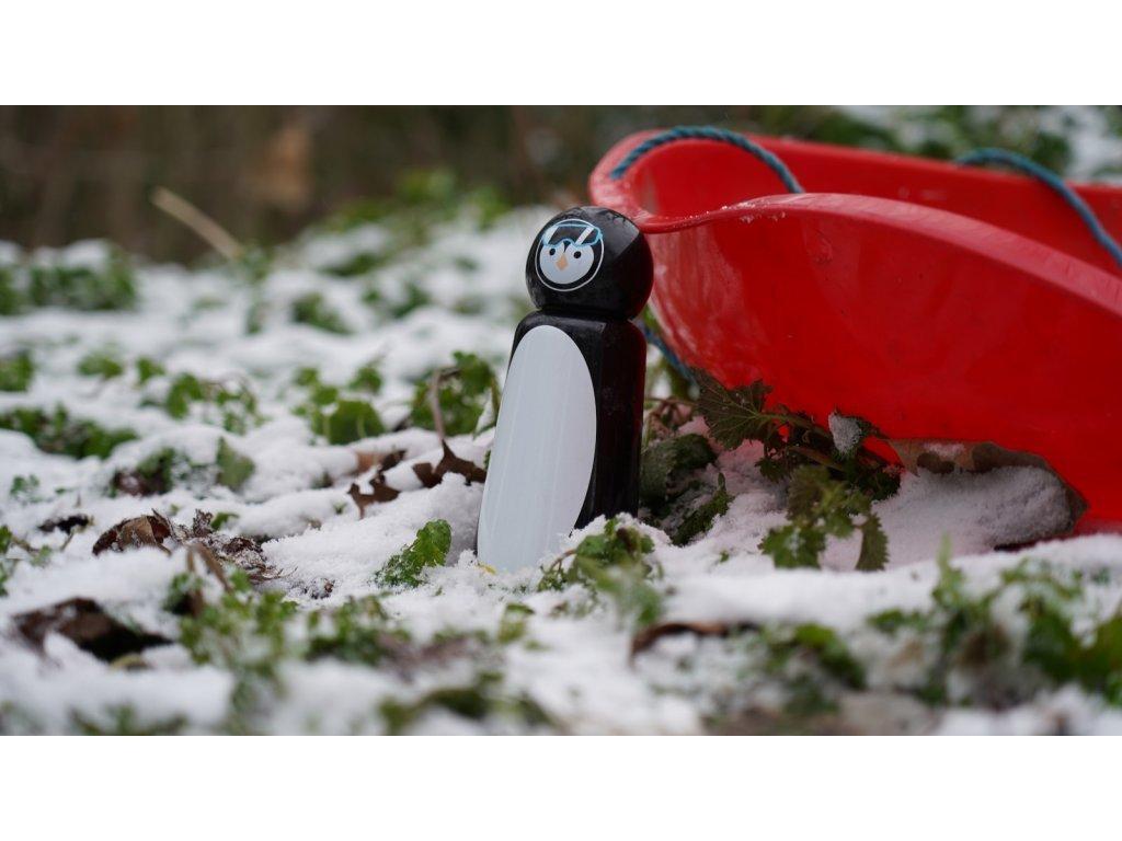 Termo fľaša LUND LONDON Skittle Bottle Mini 300ml - Penguin