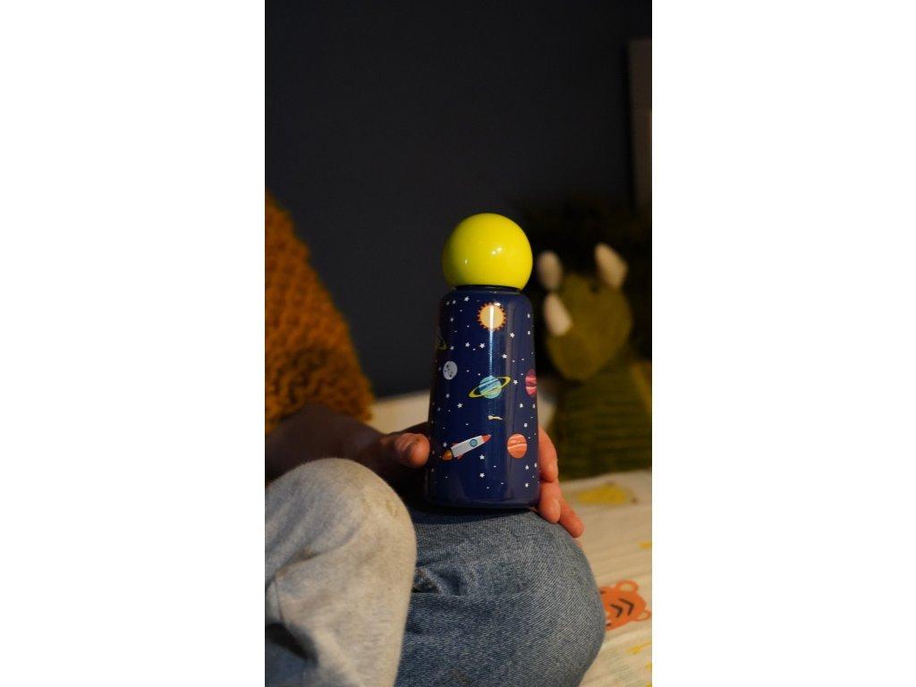 Termo fľaša do školy LUND LONDON Skittle Bottle Mini 300ml - Planets