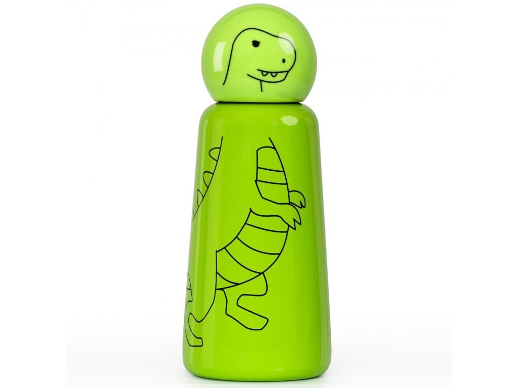 Termo fľaša LUND LONDON Skittle Bottle Mini 300ml - T-Rex