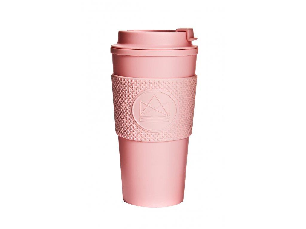 Hrnček na kávu Neon Kactus Double Walled - Pink Flamingo 450 ml