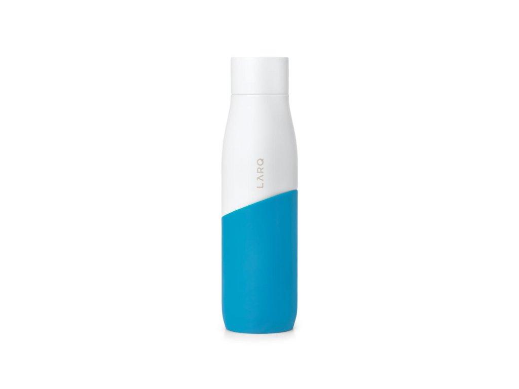 Samočistiaca fľaša LARQ White/Marine