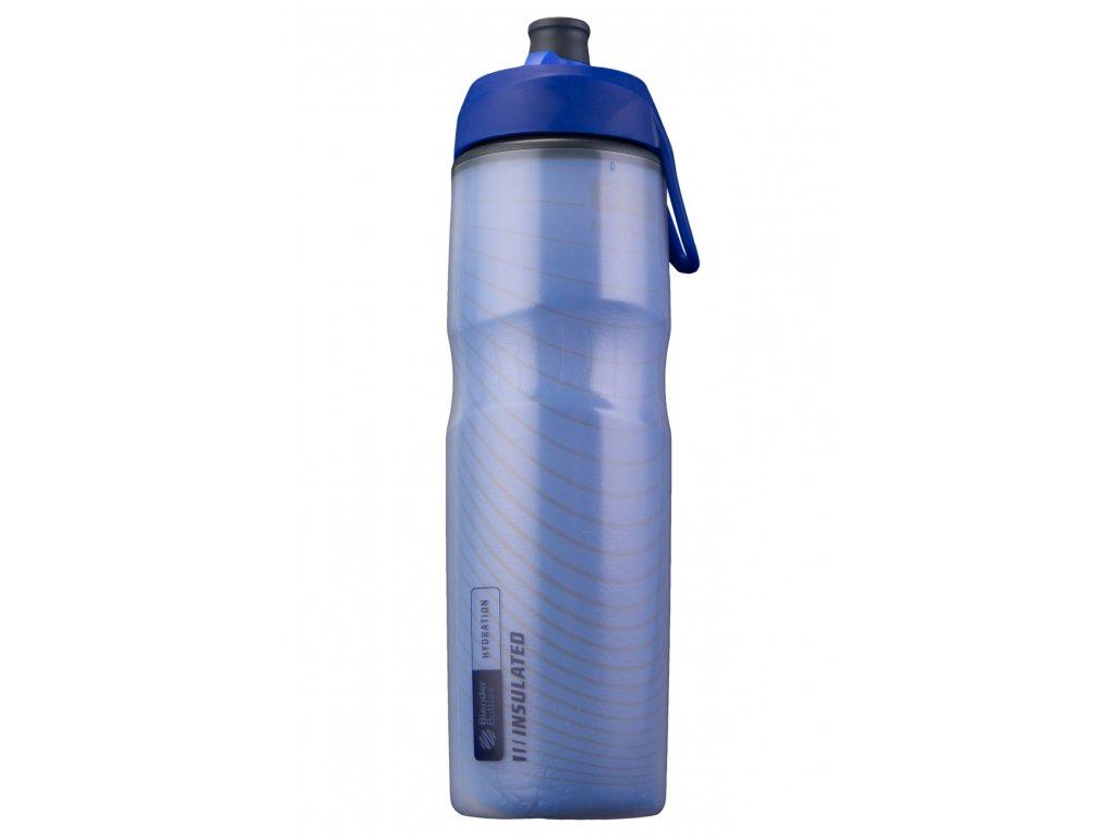 Fľaša na vodu BlenderBottle Hallex insulated Blue 710 ml