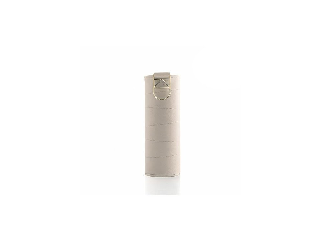 Obal na fľašu EQUA - Mismatch Beige 750 ml