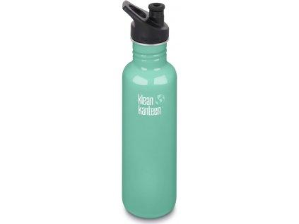Klean Kanteen Classic w/Sport Cap 3.0 nerezová fľaša - sea crest 800 ml