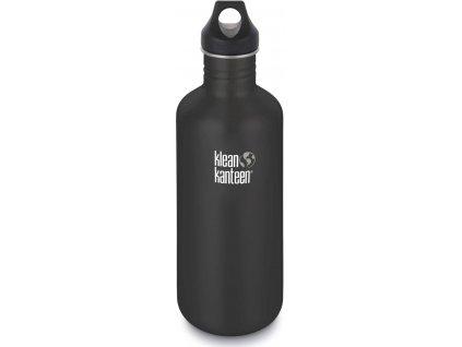 nerezová fľaša klean kanteen 1182ml čierna