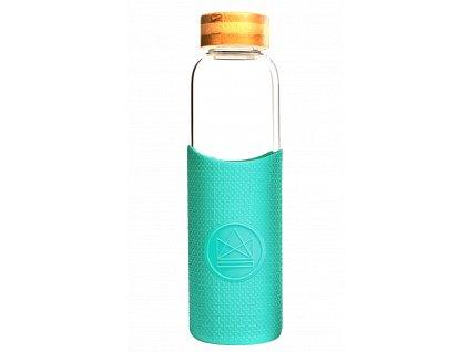 Sklenená fľaša na vodu Neon Kactus - Free Spirit 550 ml